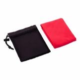 Ręcznik sportowy Frisky, czerwony z logo (R07980.08)