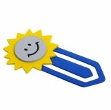 Zakładka Sunshine, niebieski/żółty z nadrukiem (R74012)
