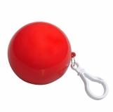 Brelok Rain Coat, czerwony z nadrukiem (R74018.08)