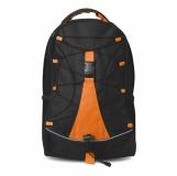 MONTE LEMA Czarny plecak z nadrukiem (MO7558-10)
