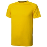 Elevate Męski T-shirt Niagara z krótkim rękawem z tkaniny Cool Fit odprowadzającej wilgoć (39010106)