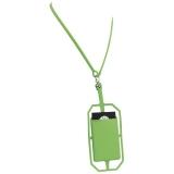 Silikonowy uchwyt RFID ze smyczą na karty kredytowe (13425803)