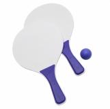 Paletki do gry Happy2, niebieski z logo (R08809.04)