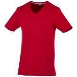Slazenger Męski T-shirt Bosey z krótkim rękawem z dekoltem w serek (33021280)