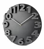 Zegar ścienny MAURO czarny (03062-02)