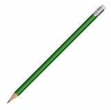 Ołówek drewniany, zielony z logo (R73771.05)