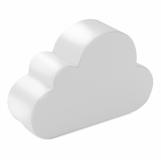 CLOUDY Antystres chmurka z logo (MO7983-06)