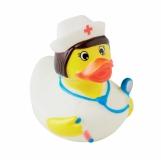 NURSE Kaczka-pielęgniarka z PVC z logo (MO9263-03)