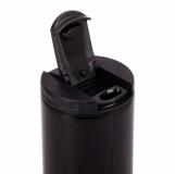 Kubek izotermiczny Toronto 450 ml, czarny z logo (R08402.02)