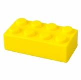 Antystres Block, żółty z nadrukiem (R73917.03)