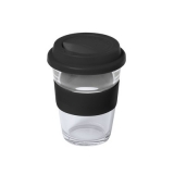 Szklany kubek podróżny 350 ml (V0987-03)