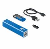 USB&POWER Zestaw USB i głośnik z logo (MO9150-04)