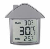 TERMOHOUSE Termometr z przyssawk�, dom z logo (MO7456-16)