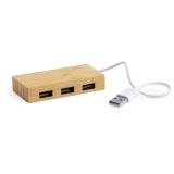 Bambusowy hub USB 2.0 (V0364-16)