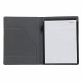 Teczka A4 Melfi, szary/czarny z logo (R89492.21)