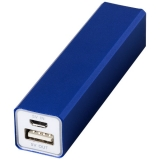 Aluminiowy akumulator powerbank Volt 2200mAh (12349201)