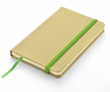 Notes A6 eko z gumką zieloną jasną, 96 kartek (17616-13)