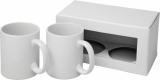 2-częściowy zestaw upominkowy Ceramic składający się z kubków z nadrukiem sublimacyjnym (10062600)