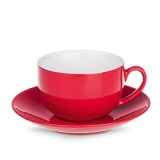 Filiżanka SONATA SET 220 ml czerwony / biały (C221_EA_F0220_0000)