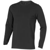 Elevate Męski T-shirt organiczny Ponoka z długim rękawem (38018956)