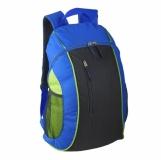 Plecak sportowy Carson, niebieski/czarny z logo (R08641)