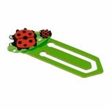 Zakładka Ladybird, zielony z logo (R73984)