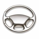 HYDEPARKS Brelok kierownica, stop cynku z logo (KC2030-16)