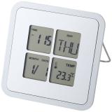 Budzik na biurko Livorno z kalendarzem i termometrem (11507100)