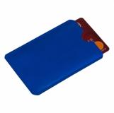 Etui na kartę zbliżeniową RFID Shield, niebieski z logo (R50169.04)