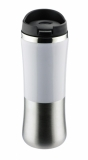 Kubek termiczny KAZO 350 ml - biały (17258-01)