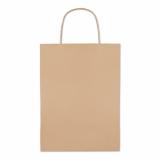 PAPER MEDIUM Paprierowa torebka ozdobna średnia z logo (MO8808-13)