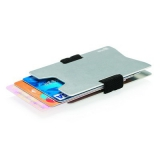 Minimalistyczny aluminiowy portfel, ochrona RFID (P820.462)