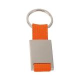 Brelok do kluczy z metalową plakietką (V4790/A-07)