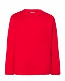T-shirt dla dzieci 150 RED (TSRK 150 LS RD)