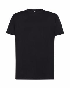 T-shirt Męski PREMIUM 190  BLACK (TSRA 190 BK)