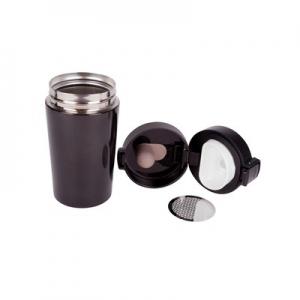 Kubek termiczny 250 ml, posiada sitko zatrzymujące fusy (V0552-03)