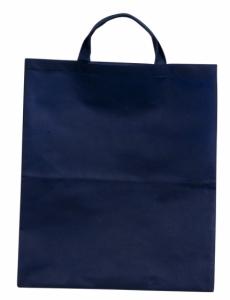 Torba eko na zakupy, niebieski z logo (R08456.04)