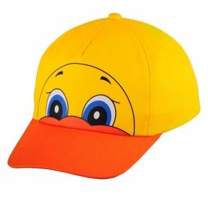 Czapka Ducky, żółty z nadrukiem (R08740)