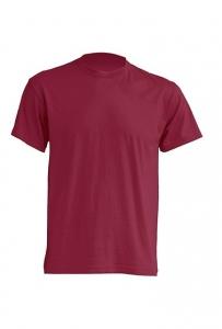T-shirt Męski PREMIUM 190  BURGUNDY (TSRA 190 BU)