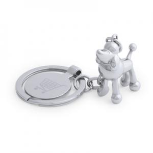 Brelok do kluczy zwierzątko, żeton do wózka na zakupy (V9800-32)