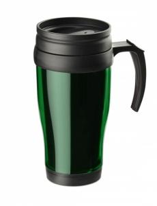 Kubek termiczny CLASSIC COLOR 400 ml zielony (17613-05)