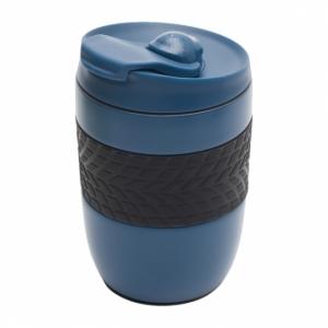Kubek izotermiczny Offroader 200 ml, granatowy z logo (R08317.42)