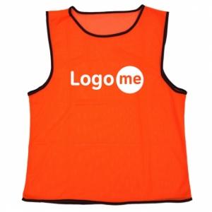 Koszulka treningowa Fit, pomarańczowy z nadrukiem (R17762.15)