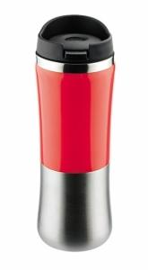 Kubek termiczny KAZO 350 ml - czerwony (17258-04)