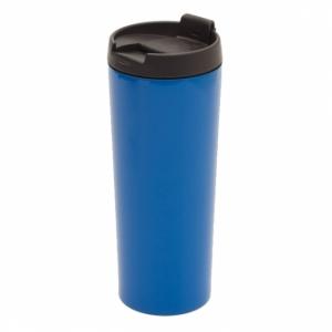 Kubek izotermiczny Tornio 450 ml, jasnoniebieski z logo (R08348.28)