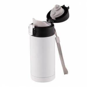 Kubek izotermiczny Petite 200 ml, biały z logo (R08423.06)