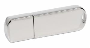 Elegancki Chromowany Pendrive z logo GRATIS (PDm-16_32GB-USB3.0)