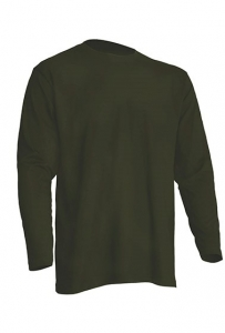 T-shirt Męski z długim rękawem KHAKI (TSRA 150 LS KH)