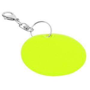 Brelok odblaskowy Reflect, żółty z logo (R73251.05)