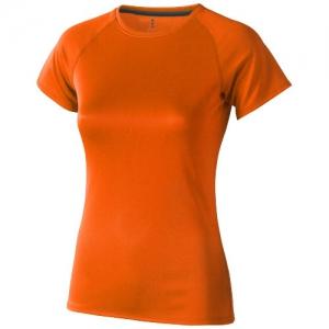 Elevate Damski T-shirt Niagara z krótkim rękawem z tkaniny Cool Fit odprowadzającej wilgoć (39011335)